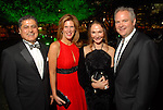 David and Cynthia Birdwell, Terry Chalmers and Roy Marsh at the Discovery Green Gala at Discovery Green Park downtown Saturday Feb. 23,2008.(Dave Rossman/For the Chronicle)