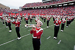 "Wisconsin Badgers band plays during the famed ""5th Quarter"" after an NCAA college football game against the Austin Peay Governors on September 25, 2010 at Camp Randall Stadium in Madison, Wisconsin. The Badgers beat the Governors 70-3. (Photo by David Stluka)"