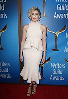 BEVERLY HILLS, CA - FEBRUARY 11:  Greta Gerwig at the 2018 Writers Guild Awards L.A. Ceremony at The Beverly Hilton Hotel on February 11, 2018 in Beverly Hills, California. <br /> CAP/MPI/FS<br /> &copy;FS/MPI/Capital Pictures