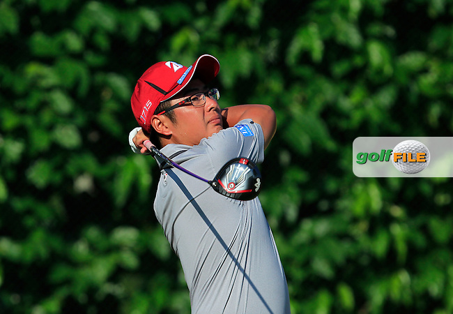 Wilson Choo (MAS) in action during Round Four of the Maybank Championship Malaysia 2016, at the Royal Selangor Golf Club, Kuala Lumpur, Malaysia.  21/02/2016. Picture: Golffile | Thos Caffrey.<br /> <br /> All photos usage must carry mandatory copyright credit (&copy; Golffile | Thos Caffrey).