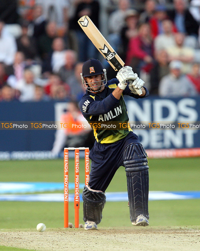 Ryan ten Doeschate drives four runs for Essex - Essex Eagles vs Kent Spitfires - Friends Provident Twenty 20 T20 Cricket at the Ford County Ground, Chelmsford -  02/06/10 - MANDATORY CREDIT: Gavin Ellis/TGSPHOTO - Self billing applies where appropriate - Tel: 0845 094 6026