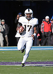 November 7, 2015 - Colorado Springs, Colorado, U.S. - Army quarterback, Ahmad Bradshaw #17, rushes for a gain during the NCAA Football game between the Army Black Knights and the Air Force Academy Falcons at Falcon Stadium, U.S. Air Force Academy, Colorado Springs, Colorado.  Air Force defeats Army 20-3.