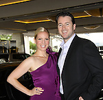Liza Huber and husband Alex Heresterbeg at the 38th Annual Daytime Entertainment Emmy Awards 2011 held on June 19, 2011 at the Las Vegas Hilton, Las Vegas, Nevada. (Photo by Sue Coflin/Max Photos)