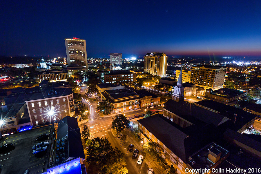 TALLAHASSEE, FLA. 11/17/16-The skyline of Tallahassee, Florida.<br />