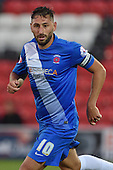11/08/2015 Capital One Cup, First Round Fleetwood Town v Hartlepool United<br /> Billy Paynter, Hartlepool United