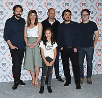 03 August 2018 - Beverly Hills, California - Nash Edgerton, Brooke Satchwell, Chika Yasumura, Scott Ryan, Justin Rosniak, Damon Herriman. FX 2018 TCA Summer Press Tour held at the Beverly Hilton Hotel. <br /> CAP/ADM/BT<br /> &copy;BT/ADM/Capital Pictures