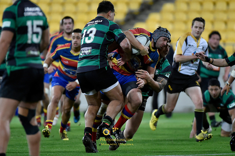 Jubilee Cup - Wainuiomata v Tawa at Westpac Stadium, Wellington, New Zealand on Saturday 2 July 2016. <br /> Photo by Masanori Udagawa. <br /> www.photowellington.photoshelter.com.