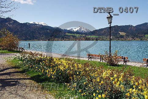Gerhard, LANDSCAPES, photos, Bayern. Fr?hlingstag am Tegensee(DTMB0407,#L#)