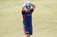 Ryan ten Doeschate of Essex warms up prior to Essex CCC vs Kent CCC, Bob Willis Trophy Cricket at The Cloudfm County Ground on 4th August 2020