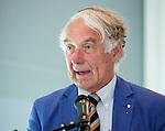 ROTTERDAM - De KNHB heeft Daan van de Vijver benoemd tot lid van verdienste. Algemene Leden Vergadering van de KNHB (Koninklijke Nederlandse Hockey Bond). FOTO KOEN SUYK