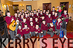 Corfheile na mBunscoileanna Eight Kerry schools are coming together for choir performances to celebrate seachtain na gaeilge at the Meadowlands Hotel on Thursday Pictured Scoil Realt na Maidine, Lios Tuathail