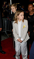 www.acepixs.com<br /> <br /> September 14 2017, New York City<br /> <br /> Shiloh Jolie-Pitt, Max Jolie-Pitt and Zahara Jolie-Pitt arriving at a screening of 'First They Killed My Father' at the DGA theatre on September 14, 2017 in New York City.<br /> <br /> By Line: Nancy Rivera/ACE Pictures<br /> <br /> <br /> ACE Pictures Inc<br /> Tel: 6467670430<br /> Email: info@acepixs.com<br /> www.acepixs.com