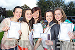 Junior Cert sutdents from Presentation Secondary Tralee From Left: Clodgha Moriarty, Aileen Mc Elligott, Emma O Halloran, Ella O Sullivan, Amanda Nolan.