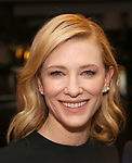 Cate Blanchett attend the Cate Blanchett and Richard Roxburgh Caricature Unveiling at Sardi's on March 14, 2017 in New York City.
