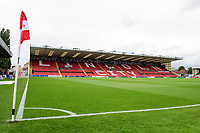 A general view of Sincil Bank, home of Lincoln City<br /> <br /> Photographer Chris Vaughan/CameraSport<br /> <br /> The Carabao Cup Second Round - Lincoln City v Everton - Wednesday 28th August 2019 - Sincil Bank - Lincoln<br />  <br /> World Copyright © 2019 CameraSport. All rights reserved. 43 Linden Ave. Countesthorpe. Leicester. England. LE8 5PG - Tel: +44 (0) 116 277 4147 - admin@camerasport.com - www.camerasport.com