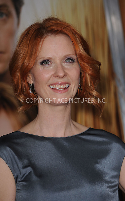 WWW.ACEPIXS.COM . . . . . ....December 14 2009, New York City....Actress Cynthia Nixon arriving at the Premiere of 'Did you here about the Morgans?' at the Ziegfeld Theatre on December 14 2009 in New York City....Please byline: KRISTIN CALLAHAN - ACEPIXS.COM.. . . . . . ..Ace Pictures, Inc:  ..(212) 243-8787 or (646) 679 0430..e-mail: picturedesk@acepixs.com..web: http://www.acepixs.com