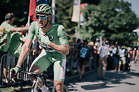 Marcel Kittel (DEU/QuickStep Floors) crossing the finish line 13th after a serious crash disrupted the bunch sprint finish<br /> <br /> 104th Tour de France 2017<br /> Stage 4 - Mondorf-les-Bains &rsaquo; Vittel (203km)