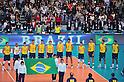 Brazil Men's Volleyball Team Group (BRA), DECEMBER 4,2011 - Volleyball : FIVB Men's Volleyball World Cup 2011,4th Round Tokyo(A) during match between Japan 0-3 Brazil at 1st Yoyogi Gymnasium, Tokyo, Japan. (Photo by Jun Tsukida/AFLO SPORT) [0003]..
