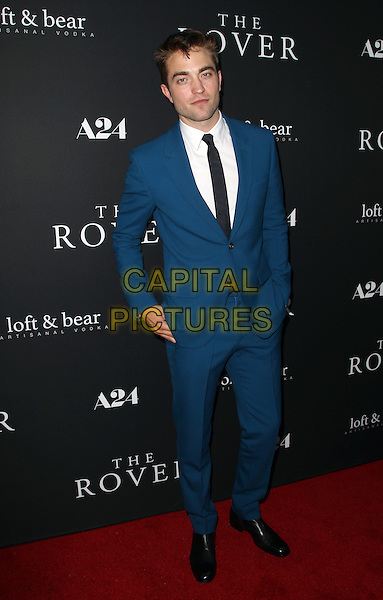 12 June 2014 - Burbank, California - Robert Pattinson. &quot;The Rover&quot; - Los Angeles Premiere Held at The Regency Bruin Theatre.  <br /> CAP/ADM/FS<br /> &copy;Faye Sadou/AdMedia/Capital Pictures
