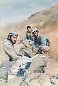 Iraq 1989 .Rest of peshmergas in Germian .Irak 1989 .Peshmergas au repos dans le Germian