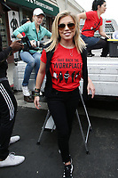 HOLLYWOOD, CA - NOVEMBER 12: Lauren Sivan at the #MeToo Women's March In Hollywood, California on November 12, 2017. Credit: Faye Sadou/MediaPunch /NortePhoto.com