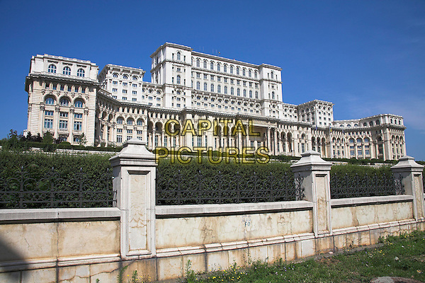Palace of Parliament, also known as Peoples Palace, Casa Poporului, Bucharest, Romania