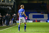 Oldham Athletic's Eoin Doyle celebrates scoring his side's second goal during the Sky Bet League 1 match between Oldham Athletic and Rochdale at Boundary Park, Oldham, England on 18 November 2017. Photo by Juel Miah/PRiME Media Images