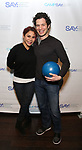 Daphne Rubin-Vega and Thomas Kail attends the Paul Rudd hosts the Sixth Annual Paul Rudd All Star Bowling Benefit for (SAY) on January 22, 2018 at the Lucky Strike Lanes in New York City.