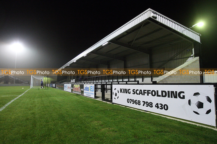 General view of Steel Park, home of Corby Town FC - Corby Town Youth vs Dagenham & Redbridge Youth - FA Youth Cup 2nd Round - 14/11/11 - MANDATORY CREDIT: Gavin Ellis/TGSPHOTO - Self billing applies where appropriate - 0845 094 6026 - contact@tgsphoto.co.uk - NO UNPAID USE.