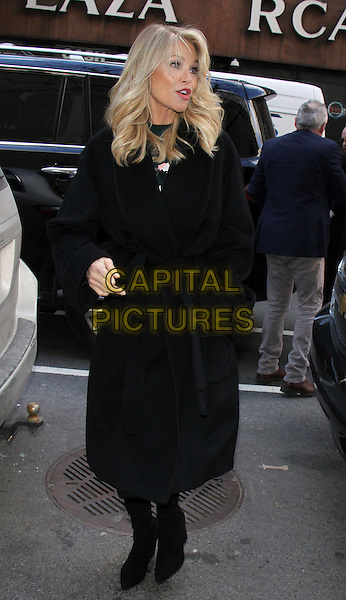 NEW YORK, NY - FEBRUARY 16: Christie Brinkley seen after co-hosting NBC's Today Show in New York City on  February 16, 2017. <br /> CAP/MPI/RW<br /> &copy;RW/MPI/Capital Pictures