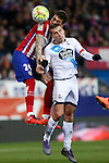 Atletico de Madrid´s Gimenez during 2015-16 La Liga match between Atletico de Madrid and Deportivo de la Coruna at Vicente Calderon stadium in Madrid, Spain. March 12, 2016. (ALTERPHOTOS/Victor Blanco)