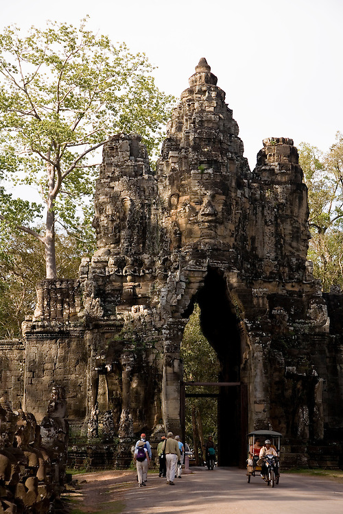 South Gate Angkor Thom -Cambodia