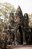 South Gate Angkor Thom -Cambodia