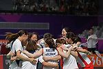 Japan team group (JPN), <br /> AUGUST 22, 2018 - Badminton : Women's Team Final match between China 1-3 Japan at Gelora Bung Karno Istora during the 2018 Jakarta Palembang Asian Games in Jakarta, Indonesia. <br /> (Photo by MATSUO.K/AFLO SPORT)