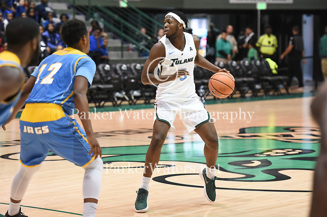 Tulane downs Southern, 95-76, in men's basketball action.