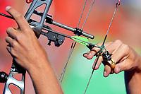 Stephan Hansen Compound<br /> <br /> ITALIA Italy Arco Olimpico <br /> Roma 02-09-2017 Stadio dei Marmi <br /> Roma 2017 Hyundai Archery World Cup Final <br /> Finale Coppa del mondo tiro con l'arco <br /> Foto Antonietta Baldassarre Insidefoto/Fitarco