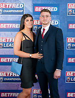 Picture by Allan McKenzie/SWpix.com - 25/09/2018 - Rugby League - Betfred Championship & League 1 Awards Dinner 2018 - The Principal Manchester- Manchester, England - Red carpet, Ethan Ryan.