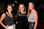 From left: Maggie Hansdorfer, Johanna Johnson and Lyndel Dowd on the red carpet at Fashion Houston at the Wortham Theater Friday  Nov.15,2013.  (Dave Rossman photo)