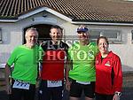 Ruairí Hickey, Jimmy Finnegan, Paul Devlin and Phil Finnegan at the Annagassan 10km.<br /> <br /> <br /> Photo - Jenny Matthews