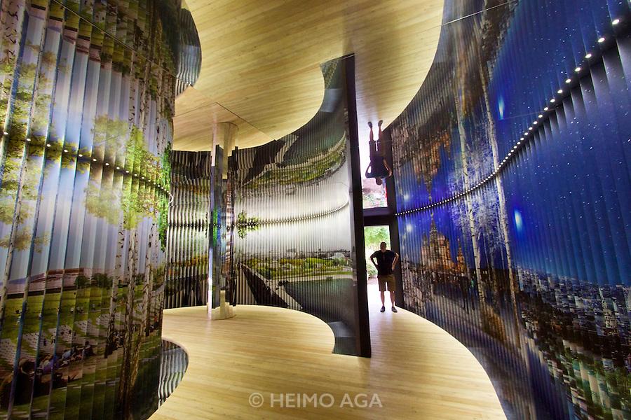 Venice, Italy. 14th Architecture Biennale 2014, &quot;fundamentals&quot;.<br /> &quot;Moskva: urban space&quot;