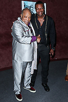 LOS ANGELES, CA, USA - SEPTEMBER 17: Quincy Jones, Chris Tucker arrive at the Los Angeles Premiere Of RADiUS-TWC's 'Keep On Keepin' On' held at the Landmark Theatre on September 17, 2014 in Los Angeles, California, United States. (Photo by Xavier Collin/Celebrity Monitor)