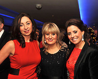 Pictured at the Christmas in Killarney Fashion Show in the Aghadoe Heights Hotel on Thursday night were from left, Helen Sheahan, Kerry o'Connor and Olivia Buckley.<br /> Picture by Don MacMonagle<br /> <br /> PR Photo from CIK