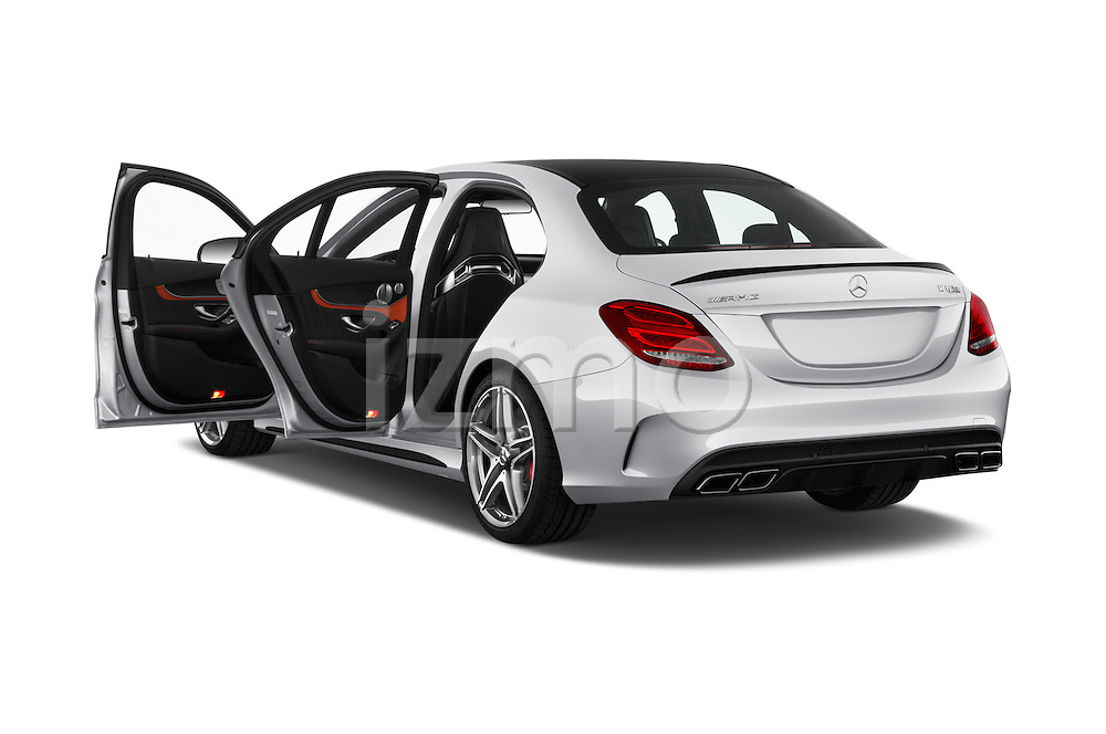 Car images of 2016 Mercedes Benz C-Class AMG-C63-S 4 Door Sedan Doors