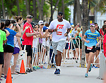 MIAMI BEACH, FLORIDA - APRIL 03: Jason Collins participates in Life Time South Beach Triathlon benefiting the St. Jude Children Hospital at Lummus Park on Sunday April 3, 2016 in Miami Beach, Florida. ( Photo by Johnny Louis / jlnphotography.com )