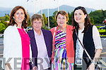 Bernie Cronin, Cait Cronin, Breda Dwyer and Noreen Moran at the Kerry Hospice fashion show in the INEC on Wednesday night
