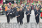 the Killarney St Patricks Day parade on Monday