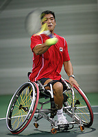 17-11-07, Netherlands, Amsterdam, Wheelchairtennis Masters 2007, Saida