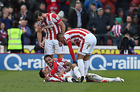 Stoke City's Bojan celebrates his goal during the Barclays Premier League match between Stoke City and Swansea City played at Britannia Stadium, Stoke on April 2nd 2016