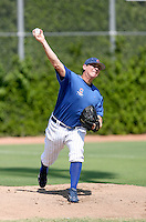 Josh Lansford / Chicago Cubs 2008 Instructional League..Photo by:  Bill Mitchell/Four Seam Images