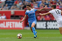 Bridgeview, IL - Sunday August 20, 2017: Taylor Comeau during a regular season National Women's Soccer League (NWSL) match between the Chicago Red Stars and FC Kansas City at Toyota Park.